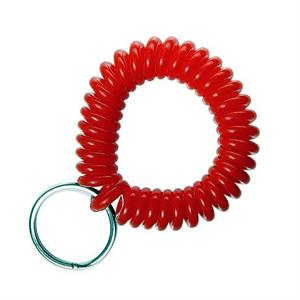 Red Plastic Wrist Coil