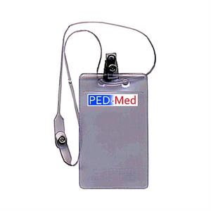 Clipped Break-Away Strap Employee ID Card Holder